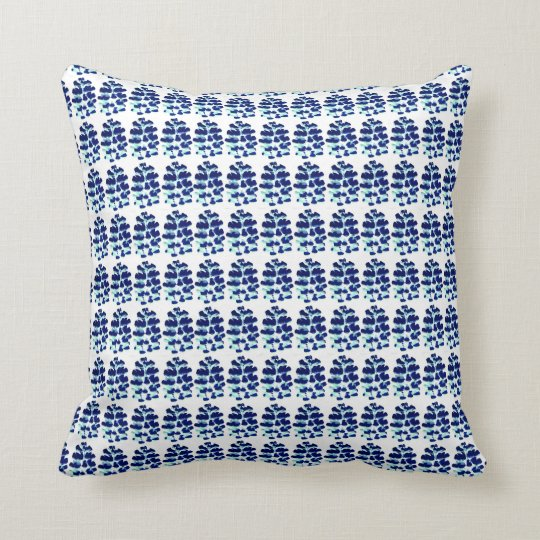 Lupin Patterned Scatter Cushion