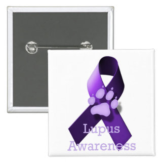 Lupus Awareness 2 Inch Square Button
