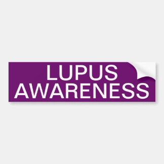 Lupus Awareness Bumper Sticker