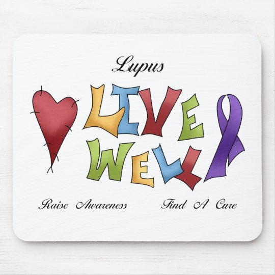 Lupus Awareness Mouse Pad