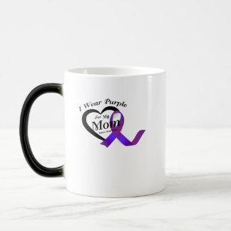 lupus awareness s I Wear Purple For My Mom Gift Magic Mug