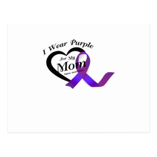 lupus awareness s I Wear Purple For My Mom Gift Postcard
