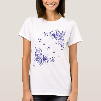 Lupus in blue T-Shirt