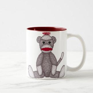Lura's Sock Monkey Mug
