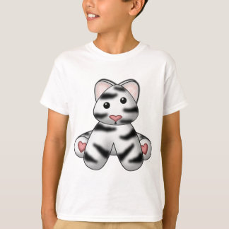 Lura's Stuffed White Tiger T-Shirt
