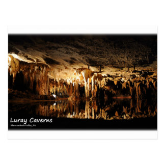 Luray Caverns, Shenandoah Valley Virginia Postcard