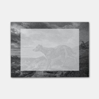 Lurcher Dogs Vintage Drawing Post-it Notes