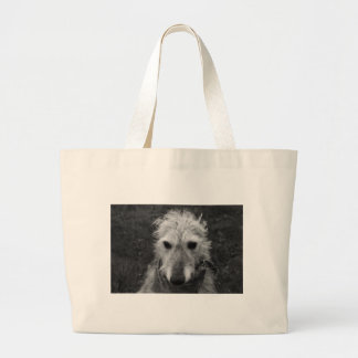 Lurcher Large Tote Bag