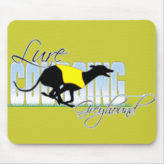 Lure Coursing Greyhound Mouse Pad