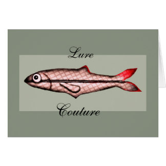 Lure Couture BLANK CARD