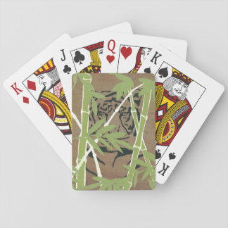 Lurking Tiger Playing Cards