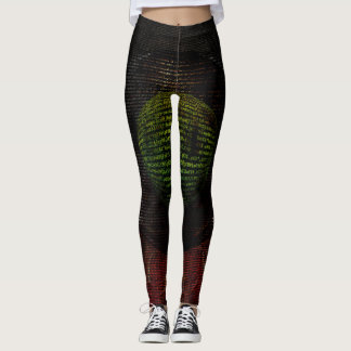 Lurkley Hill Aerial Night Base 1 Leggings
