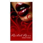 Luscious Glossy Lips Curliques | cardinal red Pack Of Standard Business Cards