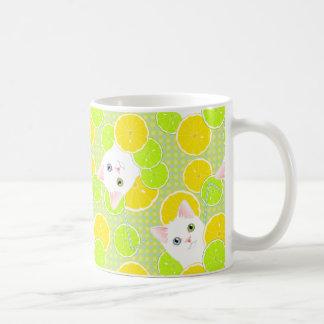 Luscious Lemonade Kitty Cat Sunny, Cheerful, Cute! Coffee Mug