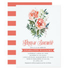 Lush Blooms Bridal Shower Card