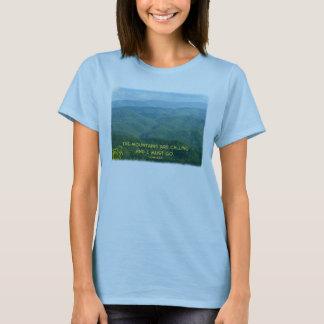 Lush Green Smoky Mtns /Mtns Calling! T-Shirt