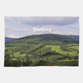 Lush Hungary Landscape Kitchen Towel