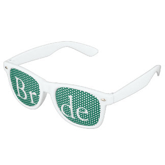 Lush Meadow Green with White Wedding Detail Party Shades