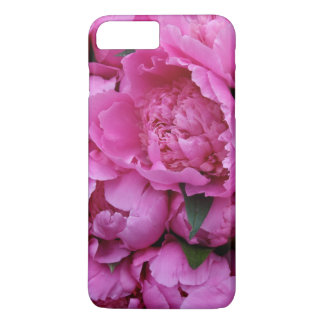 Lush Pink Peony Floral Photographic Pattern iPhone 7 Plus Case