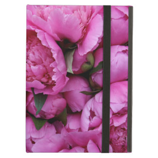 Lush Pink Peony Flowers Case For iPad Air