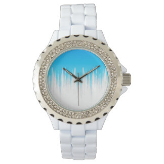 Lush (sky blue) wristwatches