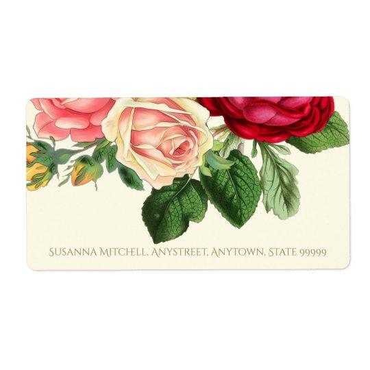 Lush Vintage Floral ID225