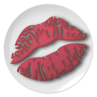 Lushious Lips Plate