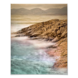 Luskentyre Beach Outer Hebrides Photographic Print