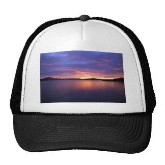 Luss Sunrise Pink Mesh Hats