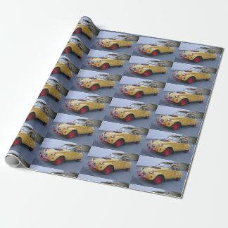 Lustige Gelbe Citroen 2CV Ente Wrapping Paper