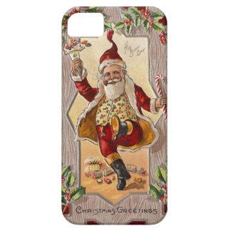 Lustiges tanzendes lustiges Vintages Weihnachten S iPhone 5 Case