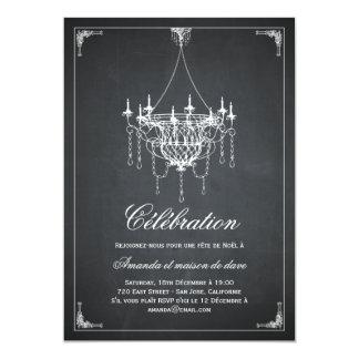 Lustre de Rustique invitations de partie de