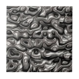 Lustrous Metallic Reflections Tiles
