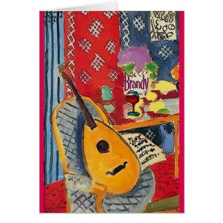 Lute & Brandy Fauvist Colors Card