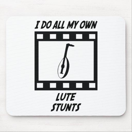 Lute Stunts Mouse Pad