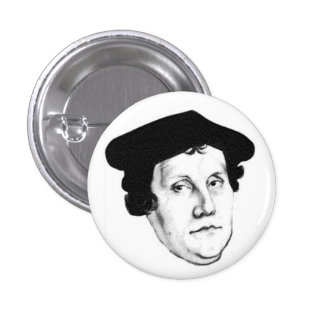 Luther head 1 inch round button