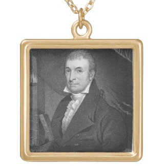 Luther Martin, engraved by William A. Wilmer (c.18 Gold Plated Necklace