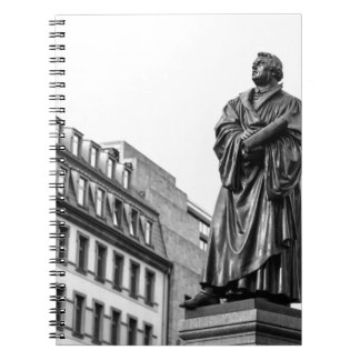 Luther Martin sculpture Spiral Notebook