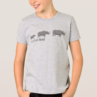 "Luther Red ""Black Rhino"" T-Shirt"