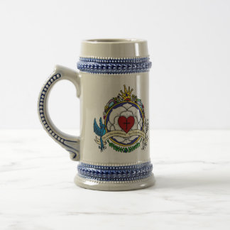 Luther Rose Roman's Crest Beer Stein
