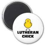 Lutheran Chick Refrigerator Magnet