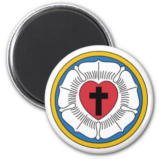 Lutheran Magnet1 2 Inch Round Magnet
