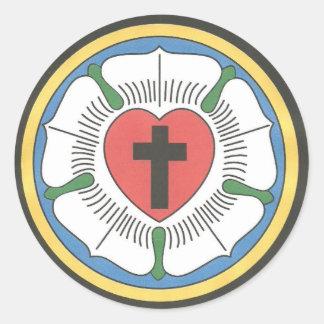Lutheran Seal Round Sticker