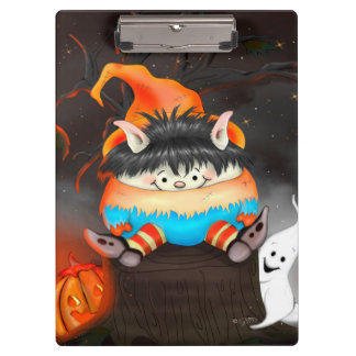 LUTIN HALLOWEEN CUTE CARTOON  Clipboard