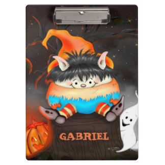 LUTIN HALLOWEEN CUTE CARTOON  Clipboard 2