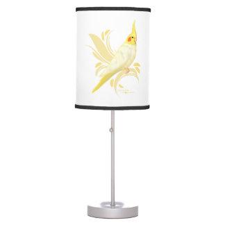Lutino Cockatiel Table Lamp