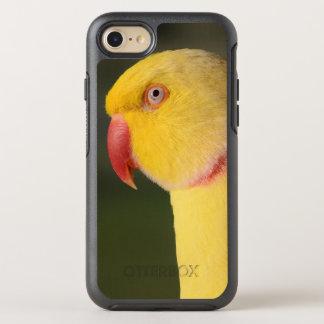 Lutino Indian Ringneck Parakeet Eye OtterBox Symmetry iPhone 8/7 Case