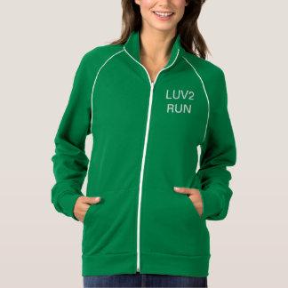 LUV2RUN Women's American Apparel California Fleece Jacket
