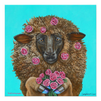 Luv Ewe by TACS 20 x 20 glossy poster