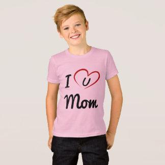 luv mom boy T-Shirt